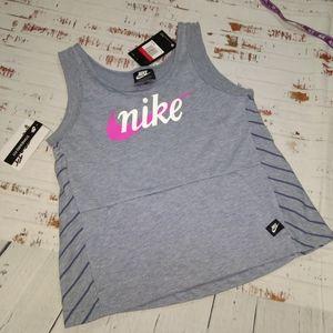 Nike tank top with sweatshirt front pocket